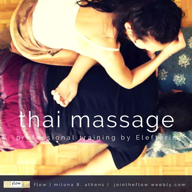 A Thai Massage therapist should always work with his-her elbow. It allows deep and precise work, especially around the shoulder blades. Perfect for stiff rhomboids!   #ThaiMassage #ThaiYogaMassage #YogaTherapy #MassageSchool #LearnMassage #AlternativeMedicine #HolisticHealing #MassageTherapy #BackPain #Spineadjustments