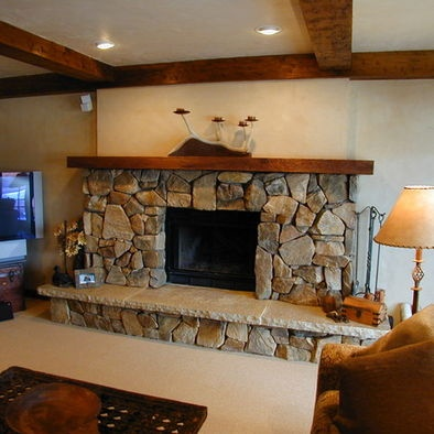 163 Best Images About Rustic Fireplace Designs On