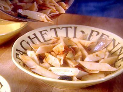 Get Pasta with Lemon Sauce :Tagliarini al Limone Recipe from Food Network