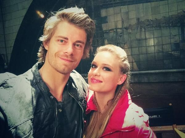 From: Luke Mitchell ‏@LukeMitchell__  38m You run into all kinds of people underground... @Leven Rambin #TheTomorrowPeople