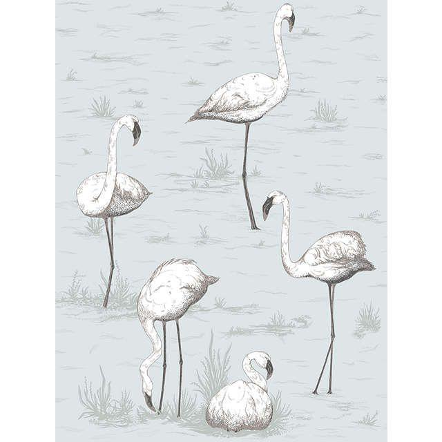 Cole & Son Flamingos Wallpaper at John Lewis