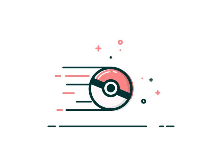 Dribbble - Pokeball in motion by Abe