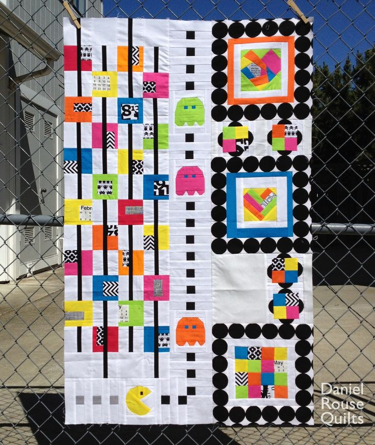 58 best Quilts video game designs images on Pinterest | Appliques ... : video game quilt pattern - Adamdwight.com