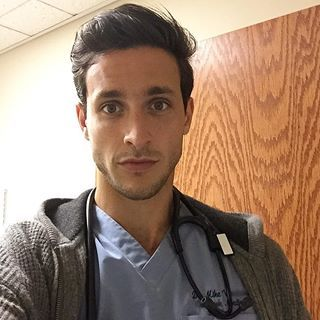 *Sneezes* | 27 Hot Doctors That'll Make You Want To Get A Check Up. Yeah...I don't know. I'd probably just faint.