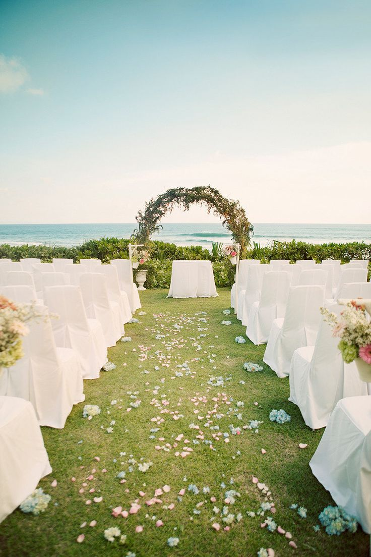 decorating ideas for outside wedding ceremony%0A Bali Wedding from Erika Gerdemark Photography  Outdoor Wedding ArchesOutdoor  WeddingsBali