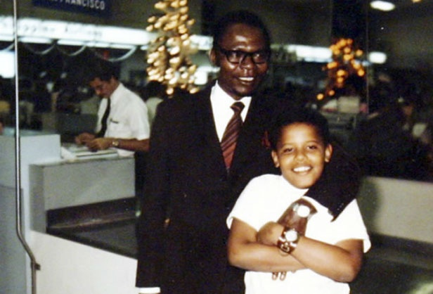 President Barack Obama's father, Barack Obama, Sr., was born in Kenya. The president's mother, Stanley Ann Dunham, was born in Kansas. President Obama was born in Honolulu— The first U.S. president born in Hawaii.