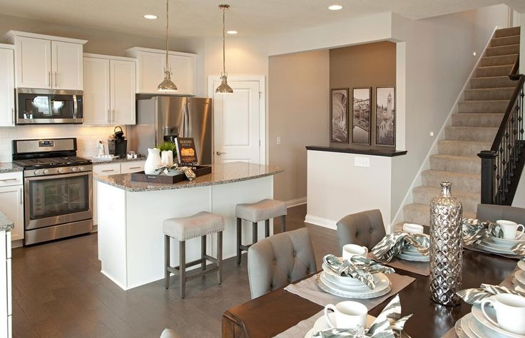 Baldwin new home features woodbury mn pulte homes new - Kitchens by design new brighton mn ...