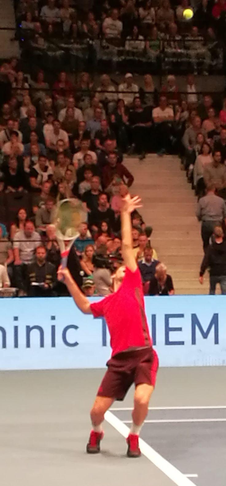 Dominic Thiem & the perfect serve