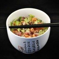 Sushi recept: Sashimi salade met sesamdressing - Sushi-San