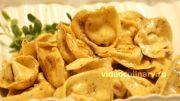Тортеллини с творогом и с сыром