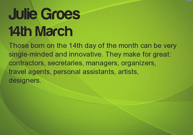 What your Birthday says about your career? Find at http://apps.unboxfun.com/birthday_say_about_career