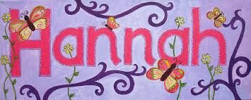 HANNAH. Meaning: God has favoured me