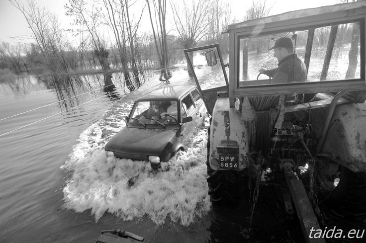 Powódź na Polesiu/ A flood in Polesie region, Poland