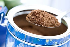 Cafe Suisse Mocha Flavored Coffee-1/4 cup powdered creamer 1/3 cup sugar 1/4 cup instant coffee 2 tablespoons powdered baking cocoa