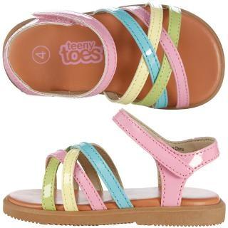 Payless, Girls' Multi-Color Crisscross Sandal, Girls