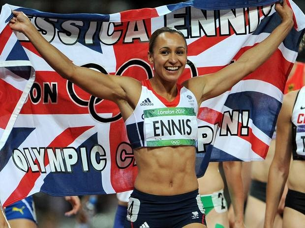 Jessica Ennis wins gold for the women's heptathlon event on day eight...will she make it as Sports Personality of the Year?