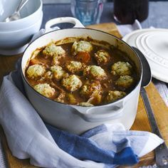 Slow cooker beef stew with dumplings - Slow Cooker Recipes - Good Housekeeping