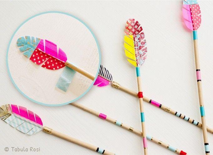 DIY Pfeile, Perfekte Ergänzung Für Kleine Indianer | PČ | Pinterest |  Birthdays, Craft And Costumes