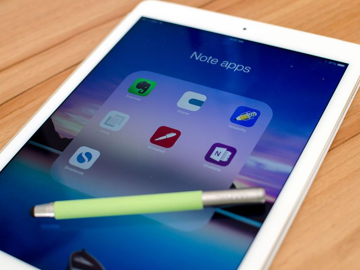Best note apps for iPad