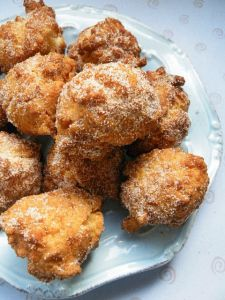 coconut banana fritters | sweets | Pinterest