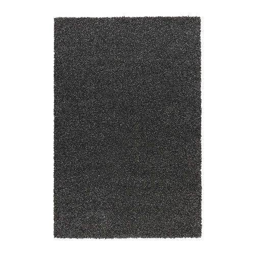 ALHEDE Rug, high pile IKEA The dense, thick pile provides a soft and warm surface for your feet and also dampens sound. Ikea $199 for the Front Room