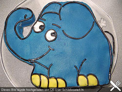 http://www.chefkoch.de/rezepte/677101170076919/Lettas-kleine-blaue-Elefant-Motivtorte.html