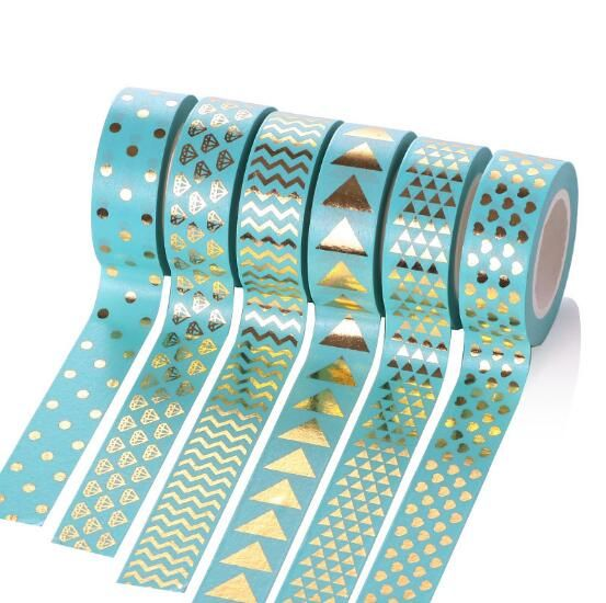 Cheap fita adesiva decorativa, Buy Quality washi tape directly from China washi tape free shipping Suppliers: Gradient Color Rainbow Washi Tape 7m length DIY Scrapbooking Tool Decorative Tape Korean School & Office Supplies Christ