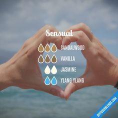 Sensual — Essential Oil Diffuser Blend #Essentialoildiffusers