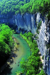 ARKANSAS - Buffalo National River Ozark Mountains
