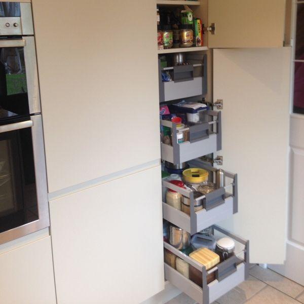 Real Kitchens - the best kitchen storage.  Larder unit storage.  Food storage