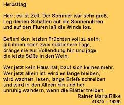 Rainer Maria Rilke - Gedichte
