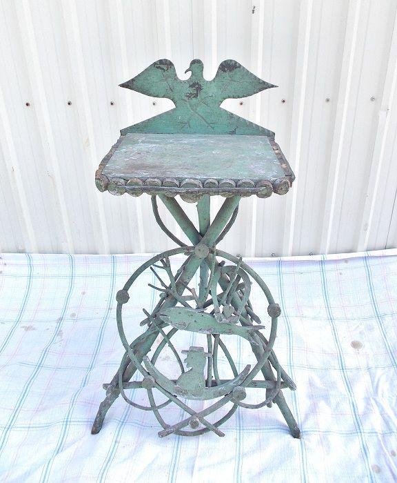 folk art twig stand antique furniture pinterest