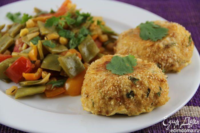 Мексиканские рыбные котлеты. Ароматные, пикантные котлеты из рыбы в мексиканском стиле. #edimdoma #recipe #cookery