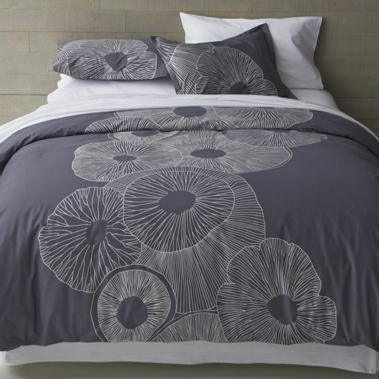 marimekko valmuska slate bed linens in outlet bed u0026 bath - Marimekko Bedding
