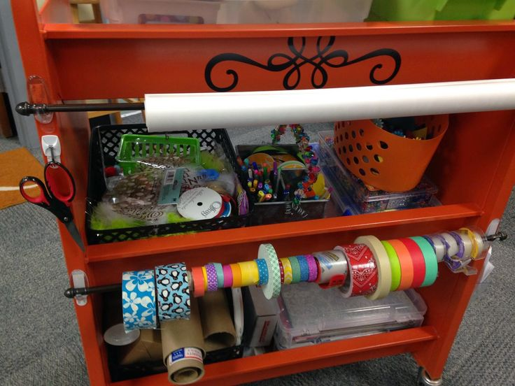 Love this mobile Makerspace cart! Librarian in Cute Shoes: Makerspace Begins in the Library