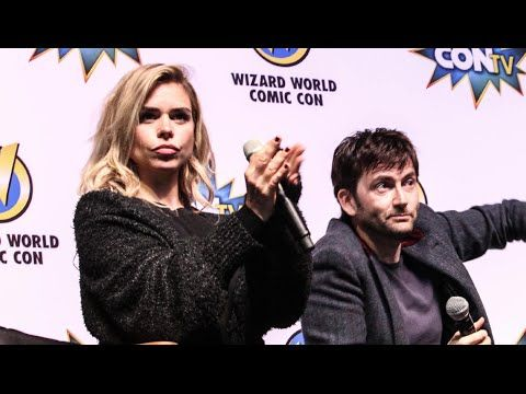 VIDEO: David Tennant & Billie Piper At Wizard World Comic Con Philadelphia On Doctor Who Companions