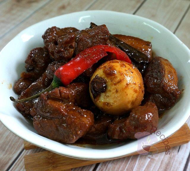 No-Frills Recipes ... cooking, baking & excerpts on travel: 'Lor' or Caramalised Pork Shoulder