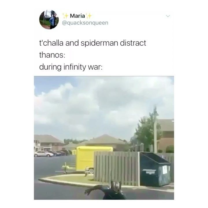 Who are all these people dancing as marvel characters? I want to meet them so badly and join their squad!     Credit to the owner #marvel #mcu #sebastianstan #tumblr  #buckybarnes #wintersoldier #avengers #infinitywar #funny #textpost #tomholland #spiderman #peterparker