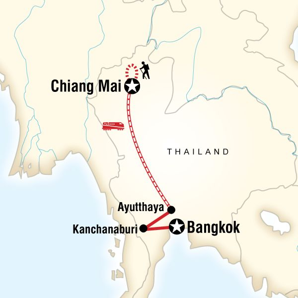 Northern Thailand Adventure, 10 days, £584-719, standard/ classic