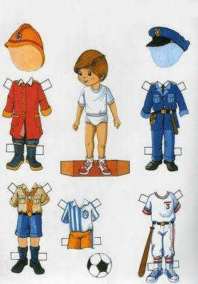 RECORTABLES PARA NIÑOS: Muñecos de papel https://www.pinterest.com/mtcorner2st/school-day-paperdoll/