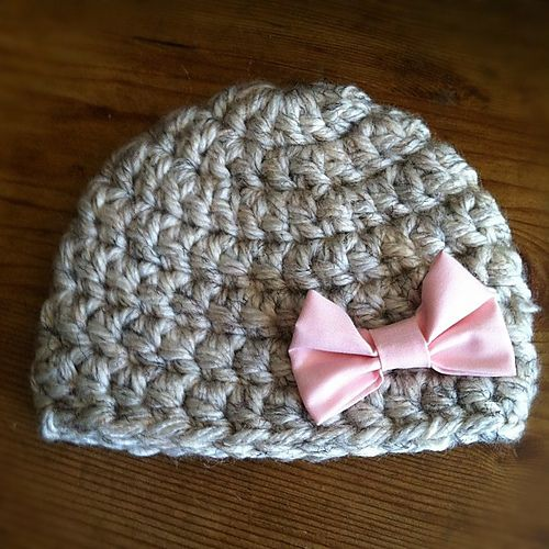 Baby Hat Knitting Pattern Ravelry : Ravelry: Chunky Newborn Hat pattern by Jess Cadena Yarn Related Projects ...