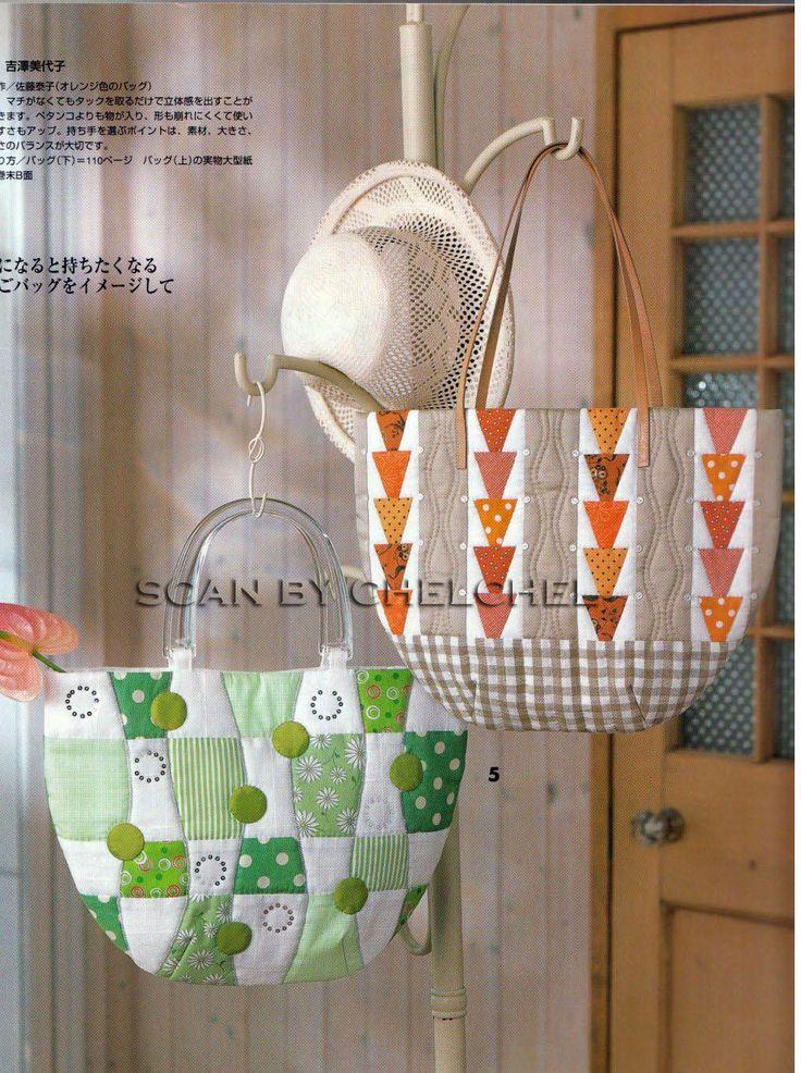 Сумки, скатерти, подушки. Quilts Japan patchwork - Bags, tablecloths, pillows