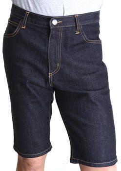 $25, Navy Denim Shorts: Famous Stars
