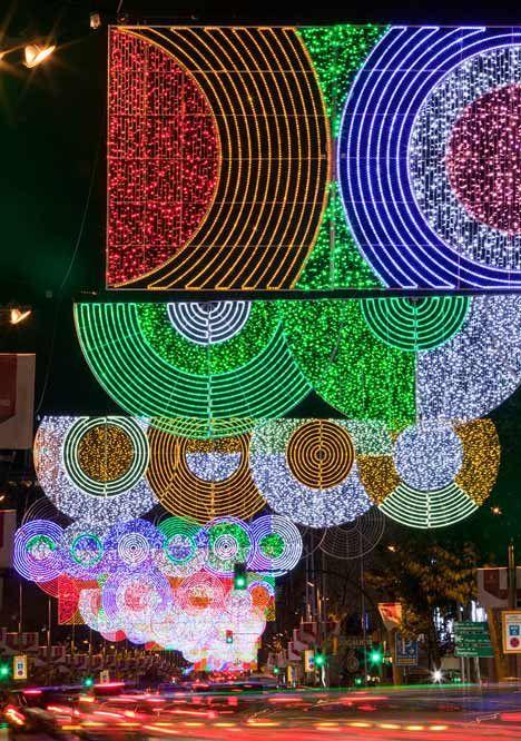 Madrid Christmas Lights by Teresa Sapey