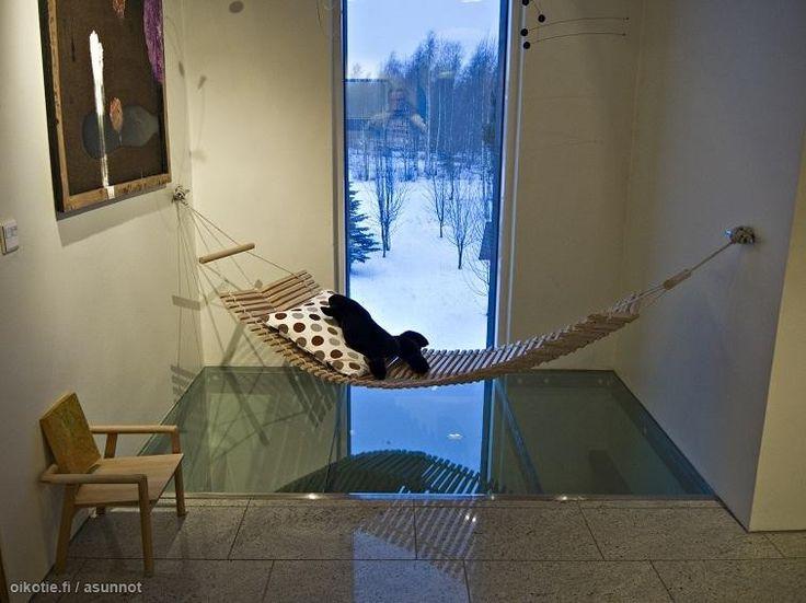 Myytävät asunnot, Klyyvari 7, Oulu #oikotieasunnot #riippukeinu