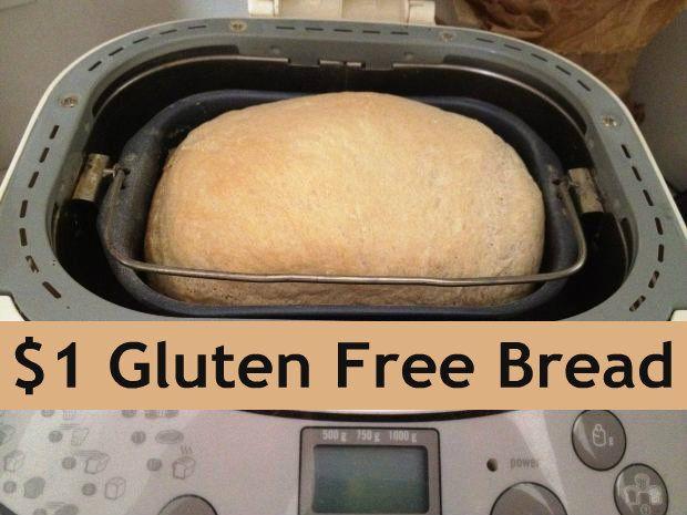Budget Friendly Gluten Free Breadmaker Bread