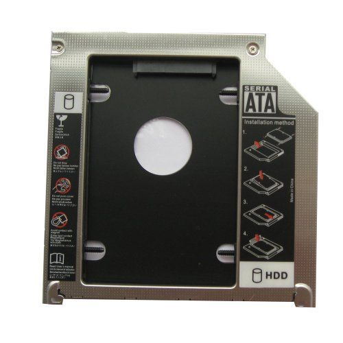Generic for Apple Macbook Pro 2012 Md101 Md102 Md103 Md104 2nd Hdd Sdd Hard Drive Caddy