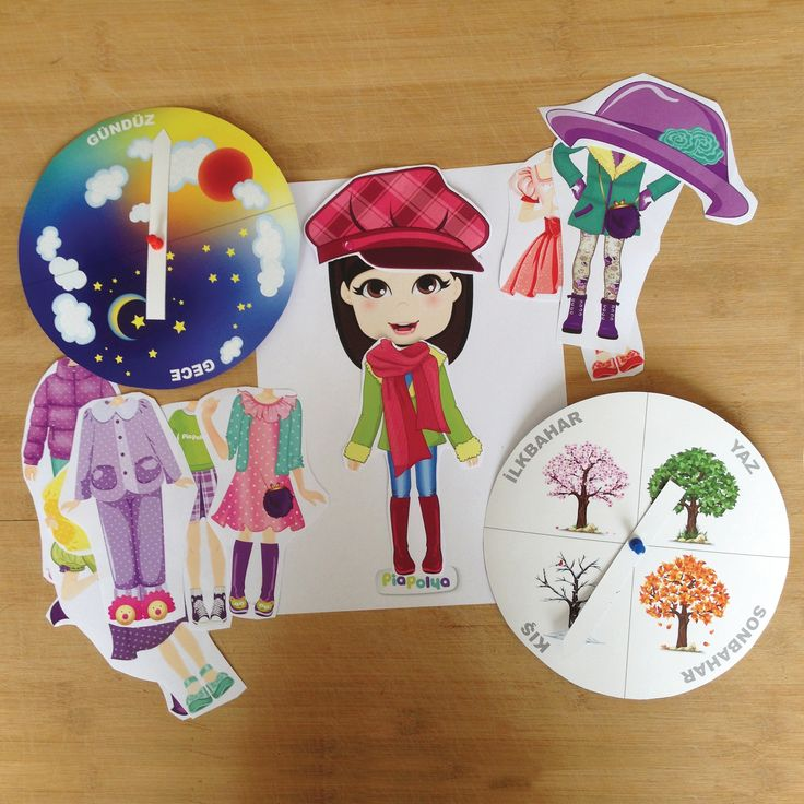 """""""Geceye, Gündüze ve Mevsimlere Göre Pia Polya Giyiniyor"""" Oyun, Pia Polya'nın tüm çocuklara hediyesi olup, fikir mülkiyeti Hotalı Ambalaj Tasarımına aittir."""