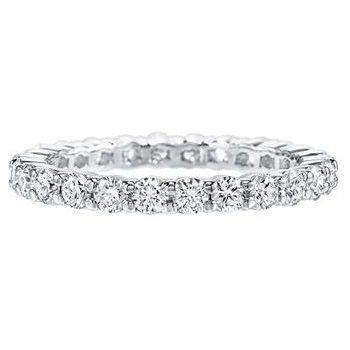「ラウンド・プロングセット・リング」 ハリーウィンストンの結婚指輪・マリッジリング一覧。