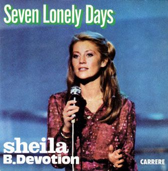 SHEILA B. DEVOTION : Seven Lonely Days (First version 1979)